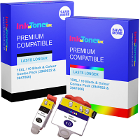 Compatible Kodak 10XL / 10 Black & Colour Combo Pack Ink Cartridges (3949922 & 3947066)