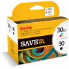 Original Kodak 30 Black & Colour Combo Pack Ink Cartridges (8039745)