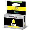 Original Lexmark 100 Yellow Ink Cartridge (14N0902E)