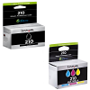 Original Lexmark 210 CMYK Multipack Ink Cartridges (14L0268E / 14L0173E)