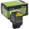Original Lexmark 802Y Yellow Toner Cartridge (80C20Y0)