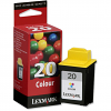 Original Lexmark 20 Colour Ink Cartridge (15MX120E)