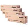 Original Olivetti B092 CMYK Multipack Toner Cartridges (B0920/ B0921/ B0922/ B0923)