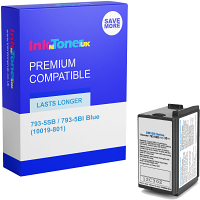 Premium Compatible Pitney Bowes 793-5SB / 793-5BI Blue Franking Ink Cartridge