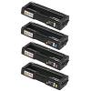 Original Ricoh 4063 CMYK Multipack Toner Cartridges (406348/ 406349/ 406350/ 406351)