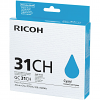 Original Ricoh GC31CH Cyan High Capacity Gel Ink Cartridge (405706)