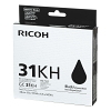 Original Ricoh GC31KH Black High Capacity Gel Ink Cartridge (405701)