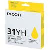 Original Ricoh GC31YH Yellow High Capacity Gel Ink Cartridge (405708)