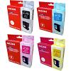 Original Ricoh GC21H CMYK Multipack High Capacity Gel Ink Cartridges (405536 / 405537 / 405538 / 405547)