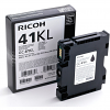 Original Ricoh GC41BKL Black Gel Ink Cartridge (405765 405773)