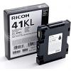 Original Ricoh GC41BKL Black Gel Ink Cartridge (405765 405773)