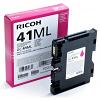 Original Ricoh GC41ML Magenta Gel Ink Cartridge (405767)