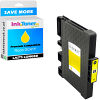 Compatible Ricoh GC41Y Yellow High Capacity Gel Ink Cartridge (405764)