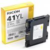 Original Ricoh GC41YL Yellow Gel Ink Cartridge (405768)