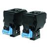 Original Epson S050594 Black Twin Pack High Capacity Toner Cartridges (C13S050594)