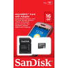 Original SanDisk Class 2 16GB MicroSDHC Memory Card + SD Adapter (SDSDQB-016G-B35)