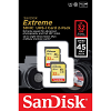 Original SanDisk Extreme Class 10 32GB Twin Pack SDHC Memory Card
