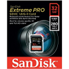 Original SanDisk Extreme Pro Class 10 32GB SDHC Memory Card (SDSDXPB-032G-G46)