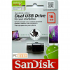Original SanDisk Ultra Dual 16GB USB 2.0 Flash Drive (SDDD-016G-G46)
