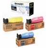 Original Sharp ARC16T / ARC-25 CMYK Multipack Toner Cartridges (ARC16T1/ AR-C25T6/ ARC-25T7/ ARC-25T8)