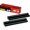 Original Sharp UX3CR Black Twin Pack Ink Film Thermal Ribbons (UX3CR)