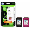 Original HP 301 Black & Colour Combo Pack Ink Cartridges + Photo Paper & Envelopes