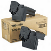 Original Toshiba T-2500E Black Twin Pack Toner Cartridges (60066062053)