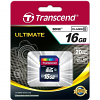 Original Transcend Class 10 16GB SDHC Memory Card (TS16GSDHC10)