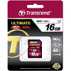 Original Transcend Ultimate Class 10 16GB SDHC Memory Card (TS16GSDHC10U1)