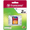 Original Transcend 2GB SD Memory Card (TS2GSDC)