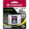 Original Transcend Premium Class 10 32GB SDHC Memory Card