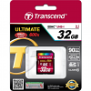 Original Transcend Ultimate Class 10 32GB SDHC Memory Card