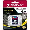 Original Transcend Class 10 4GB SDHC Memory Card