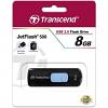 Original Transcend JetFlash 500 8GB USB 2.0 Flash Drive (TS8GJF500)