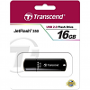 Original Transcend JetFlash 350 Black 16GB USB 2.0 Flash Drive (TS16GJF350)