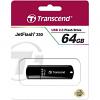 Original Transcend JetFlash 350 Black 64GB USB 2.0 Flash Drive