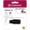 Original Transcend JetFlash 360 4GB USB 2.0 Flash Drive (TS4GJF360)