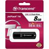 Original Transcend JetFlash 700 Black 8GB USB 3.0 Flash Drive (TS8GJF700)