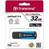 Original Transcend JetFlash 810 Black / Blue 32GB USB 3.0 Flash Drive (TS32GJF810)