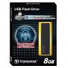 Original Transcend JetFlash 200 Hardware Encrypted 8GB USB 2.0 Flash Drive (TS8GJF200)
