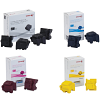 Original Xerox 108R009 CMYK Multipack x 2 Plus Two Extra Black Solid Ink (108R00997/6/5/9)