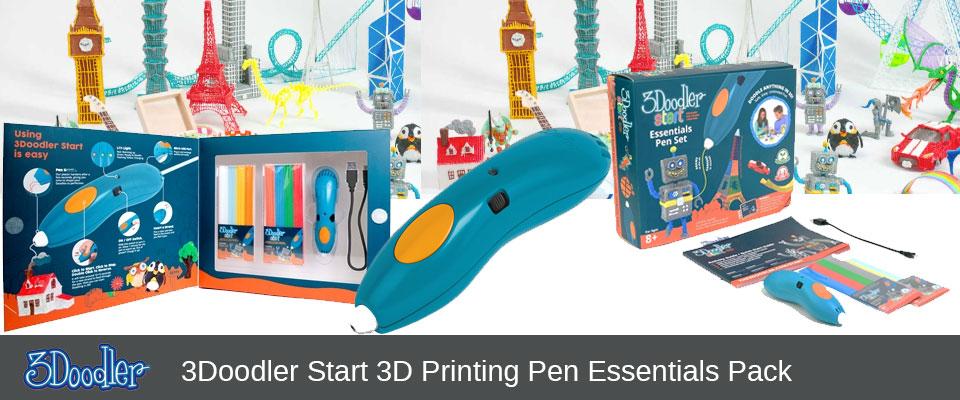 d30bdb2c0 Original 3Doodler Start Essentials Pen Set (3DS-ESST-E-R) - Ink N ...