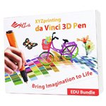 XYZ Printing 3N10EXUK00G Da Vinci 3D Pen Education Package