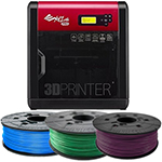 XYZPrinting da Vinci 1.0 Pro 3D Printer Bundle