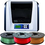 XYZPrinting da Vinci Junior 3in1 3D Printer & 3 Filaments Bundle