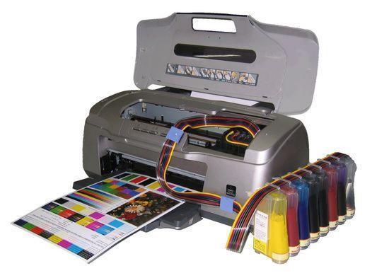 Сделай сам чернила в принтер