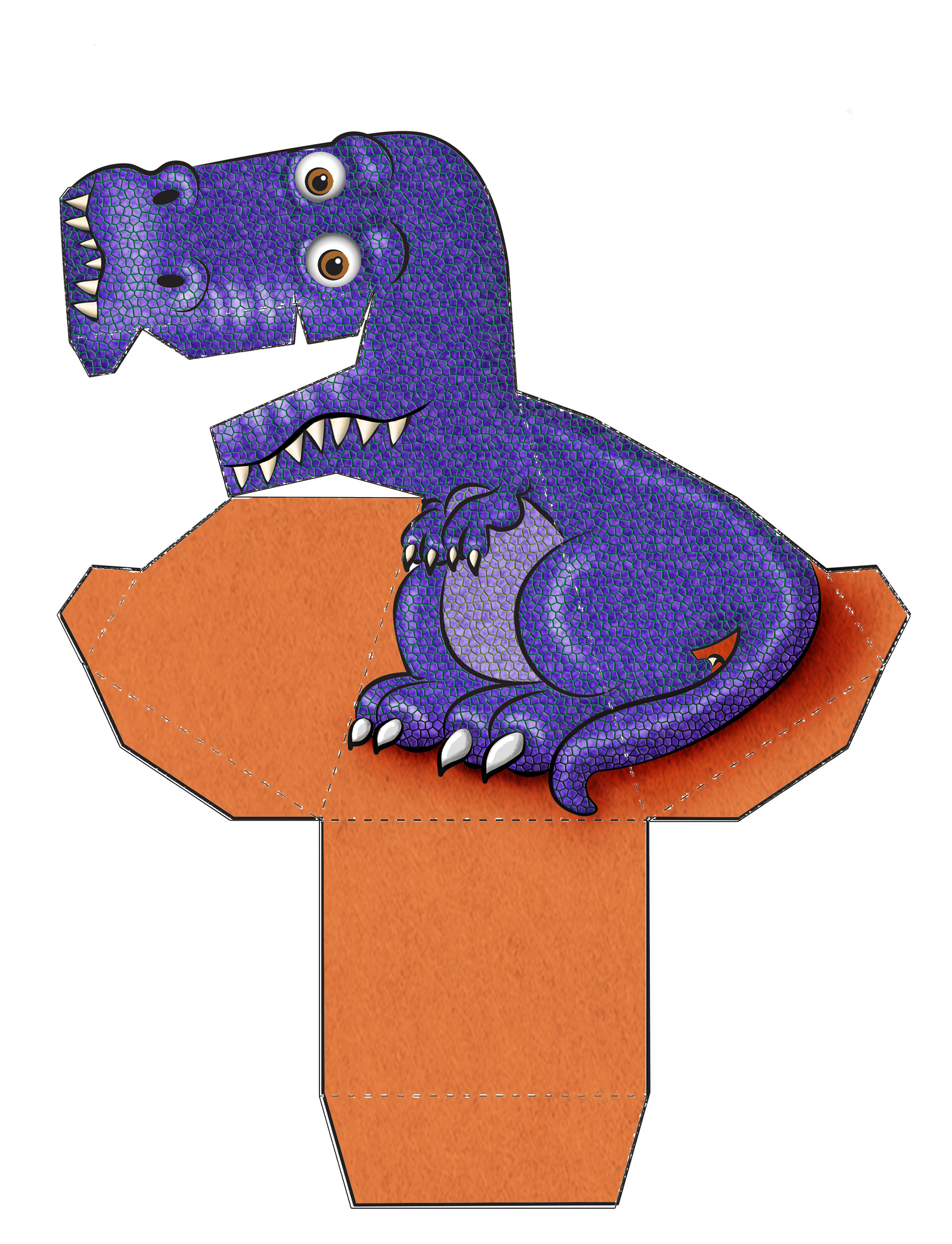 Print your own amazing t rex illusion inkntoneruk news for Animated optical illusions template
