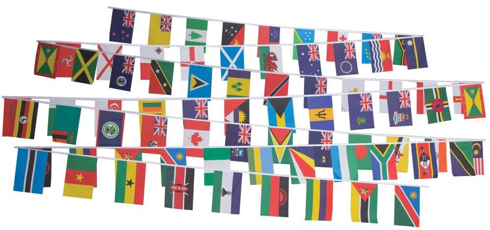 photograph about Printable Flags known as Print out the Commonwealth Region Flag Bunting
