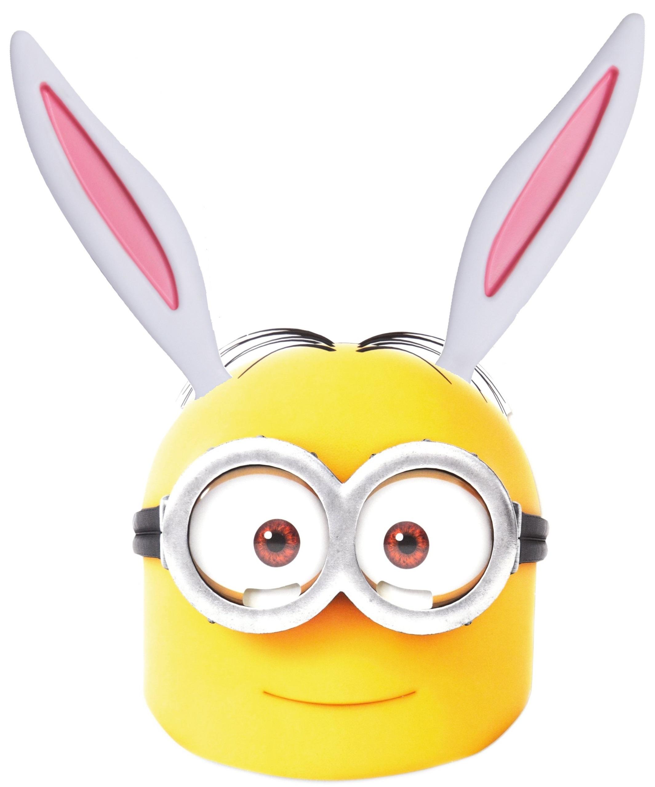Free easter minion bunny mask printable inkntoneruk news