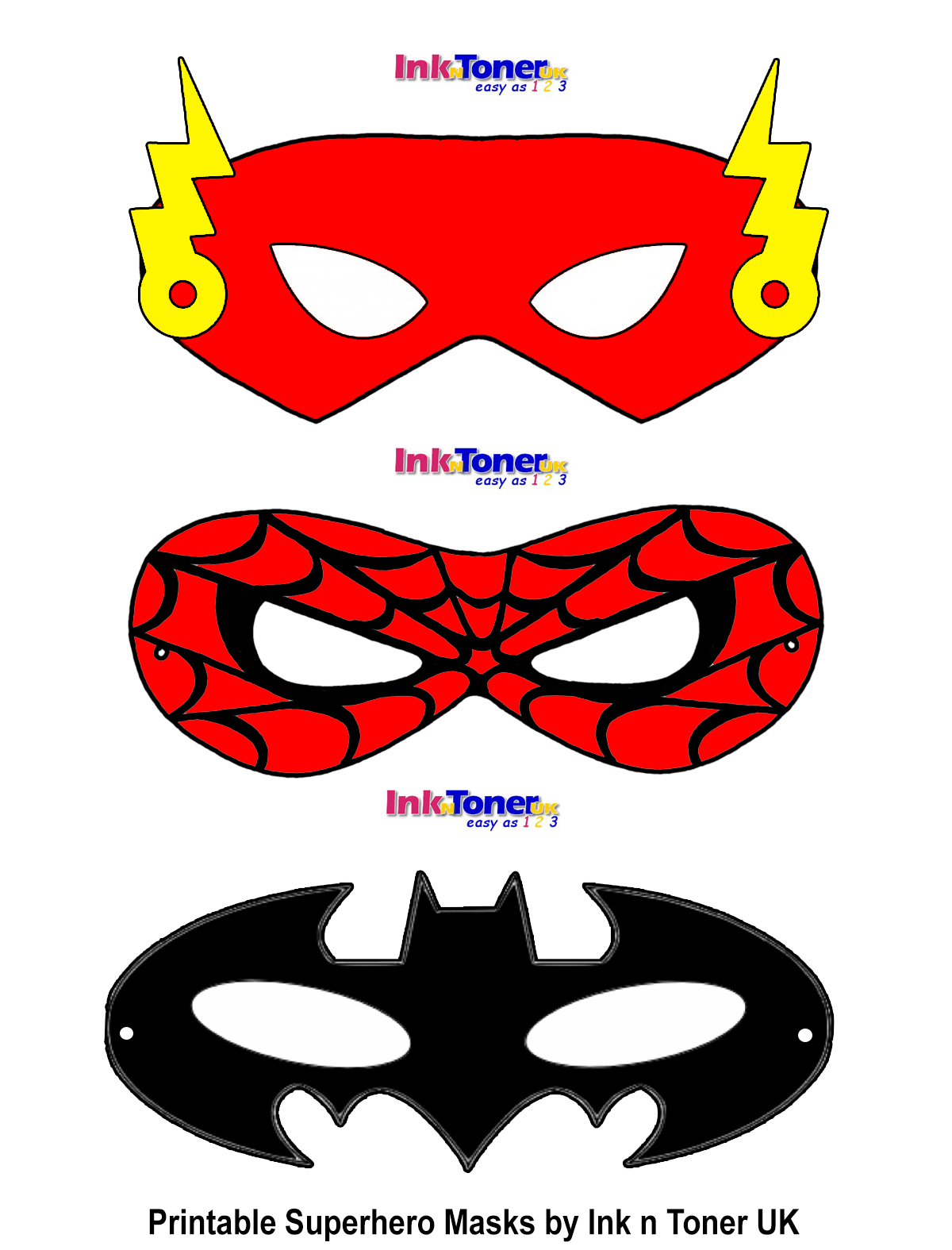 Remarkable image for free printable superhero masks